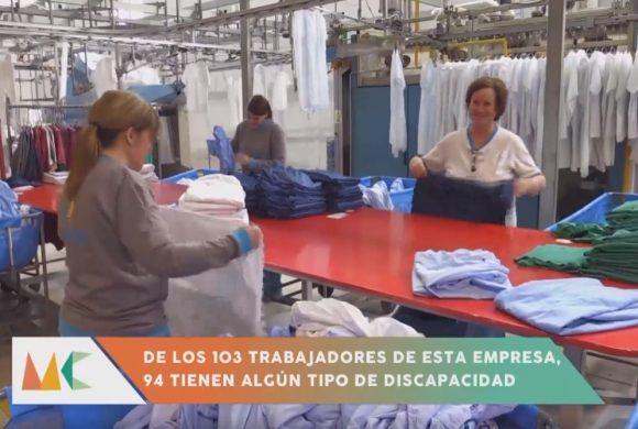 Reportaje Ilunion Lavanderías Cartagena. CEE para personas con discapacidad