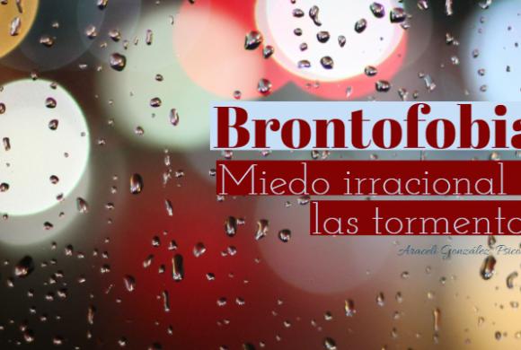 Miedo a las tormentas. Brontofobia